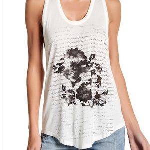 Haute Hippie Floral Happiness Tank